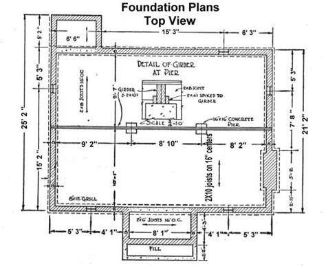 foundation plan foundation details