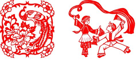 new year flower paper cutting new year paper cuts fnar 402 design
