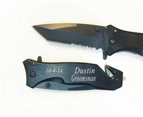personalized knives 7 groomsmen gifts personalized knives engraved by