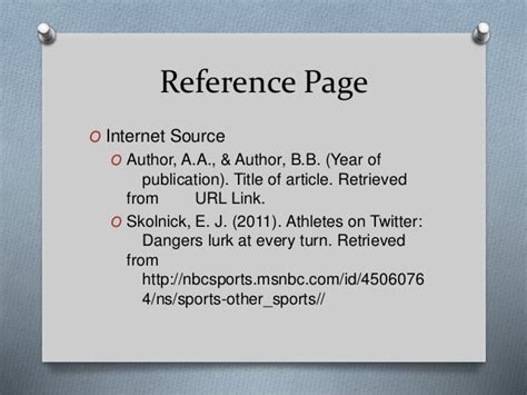 apa format link reference apa styles kyanna