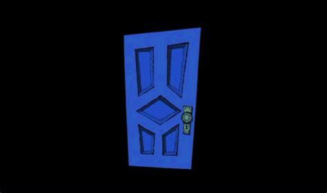 Jaket Catton Door the scary door