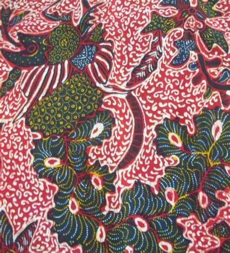 Batik Tulis Lasem 2 Warna warna cerah batik tulis pekalongan batik