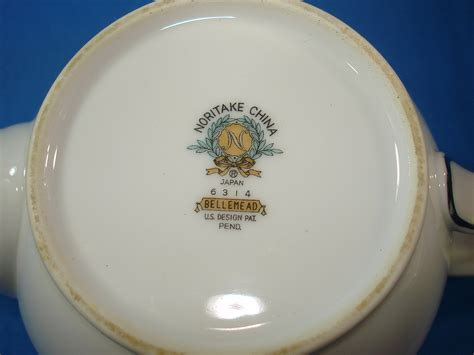 china pattern logos noritake china japan 6314 bellemead pattern tea pot lid handle