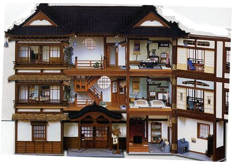 old doll houses old fashioned japanese doll house want doll house pinterest
