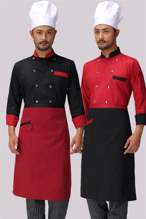 design your own cafe uniform aliexpress com buy chef uniform wear long sleeved autumn