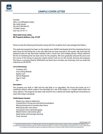 real estate agent cover letter examples