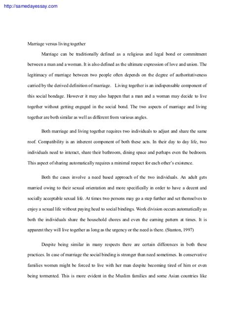 Essay On Marriage essay marriage