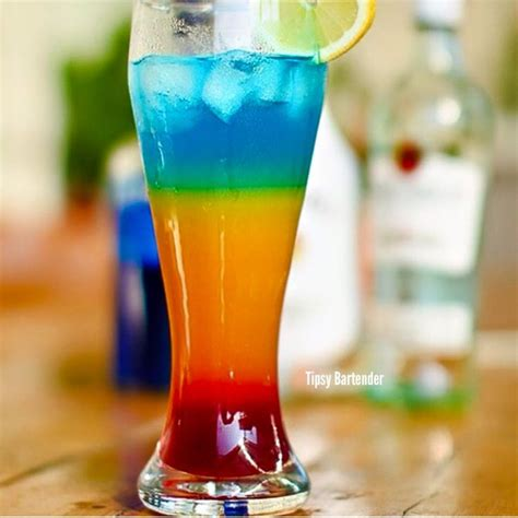 rainbow cocktail drink 24 best rainbow drinks images on pinterest drink recipes