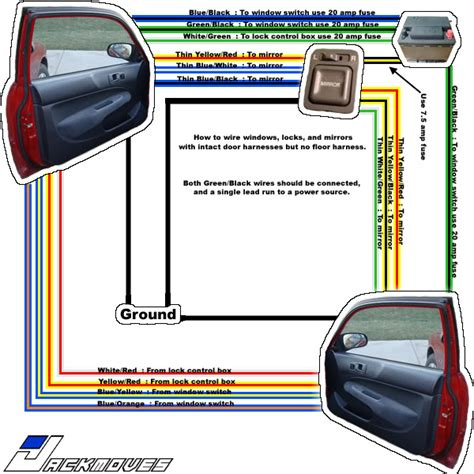 power window wiring diagram 96 civic wiring diagram schemes