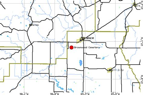 Missouri Service Letter Request Brownwood Cemetery Stoddard County Missouri