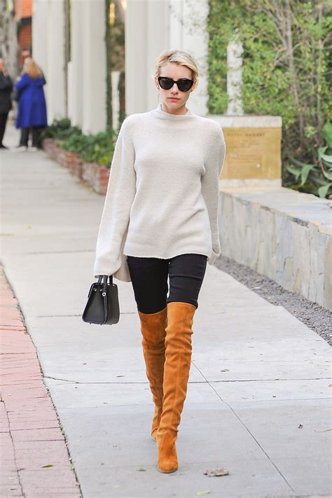 Would You Wear The Knee Boots by What Colour Shoes Would You Wear With A Navy And White