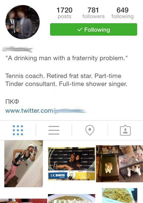 best bio for instagram ever total frat move fail friday rolling stone of regret