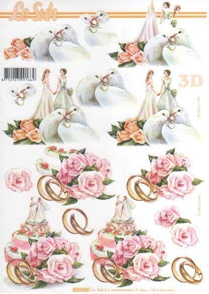 Wedding Decoupage Sheets - 614 best images about 3d knipvellen on kerst