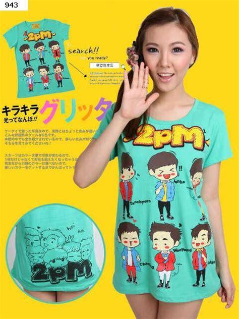 T Shirt Kpop Kaos Kpop Velver Chibi Sapi S World K Pop Chibi Tshirt