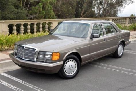 mercedes benz 300sel w126 1988 1991 factory workshop service manual 1991 mercedes benz 350sdl 4 door sedan 177273