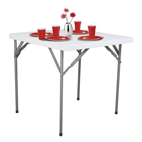 rack white folding table spt323229 the home depot
