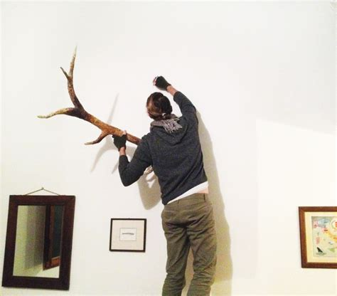 How To Make Deer Antlers Out Of Paper - how to make deer antlers my diy deer antlers