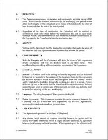 commission fee agreement template 6 best images of commission agreement letter sales