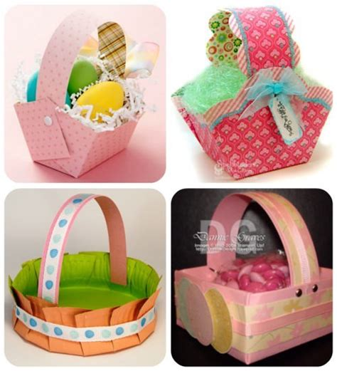Paper Easter Baskets - 70 free easter basket templates for tip junkie