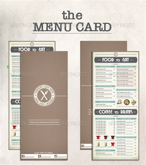 menu book template 20 trending premium print shop templates
