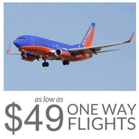 one way flights from southwest airlines as low as 49 for savings