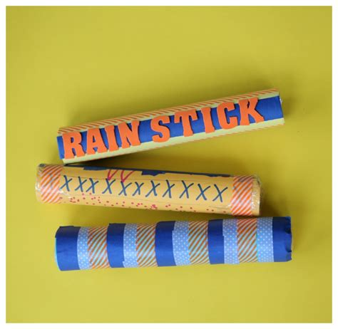 What To Make Out Of Paper Towel Rolls - recycled craft make a rainstick 183 kix cereal