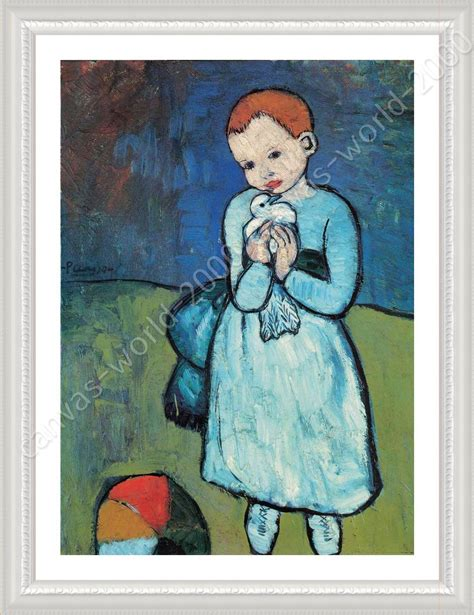 picasso paintings to print framed poster child with dove pablo picasso framed print