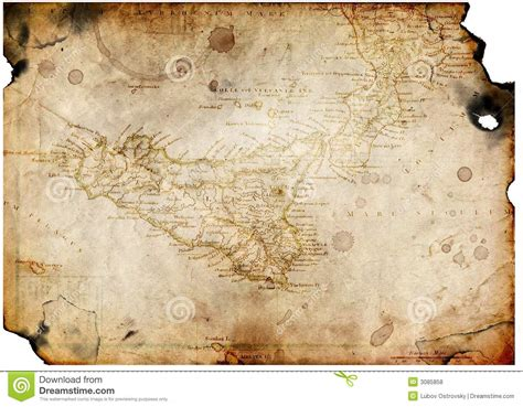 How To Make Treasure Map Paper - paper with treasure map royalty free stock photos
