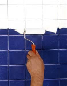 peinture pour carrelage de salle de bain