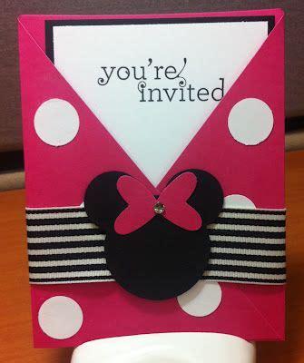Undangan Ulang Tahun Birthday Invitation Minnie Mouse disney sts and birthdays on