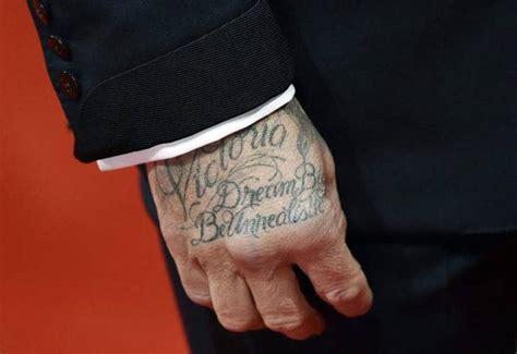 tattoo beckham hand check out the tattoos of david beckham photo2 india