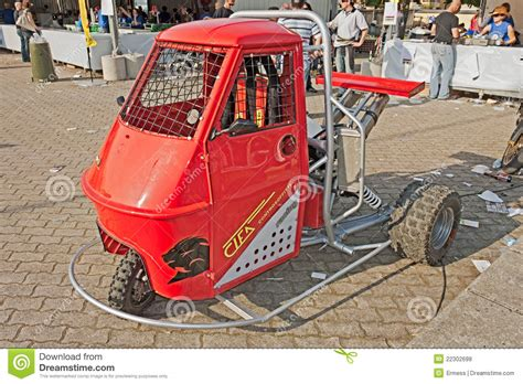 ape piaggio tuned editorial stock photo image  ground