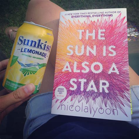 the sun is also the sun is also a star book review lucy s literature