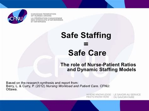 safe staffing safe care the of patient ratios