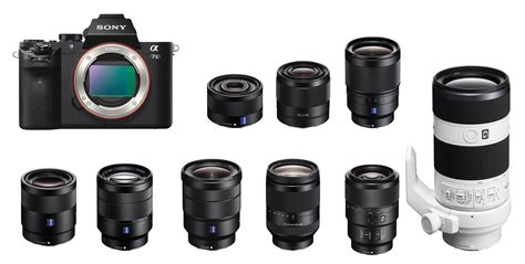 sony a7 best lens best lenses for sony a7 a7r a7 ii a7s news