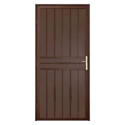 cottage screen doors security 1 3 4 in solid brass door edge guard