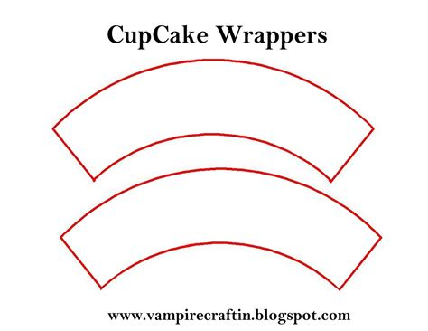 cupcake wrapper template images