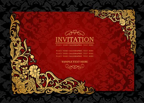 Invitation Letter Background Images invitation background designs free vector 43 922 free vector for commercial use