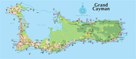 island map grand cayman map explore cayman islands