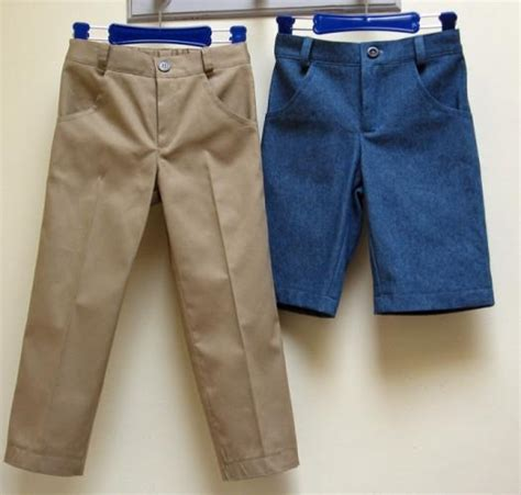 sewing pattern trousers boys casual trouser sewing pattern slim jim pants sizes 2