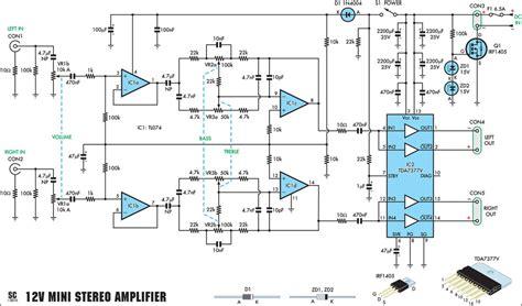 cara membuat lu led 20 watt cara membuat skema rangkaian audio lifier stereo 20