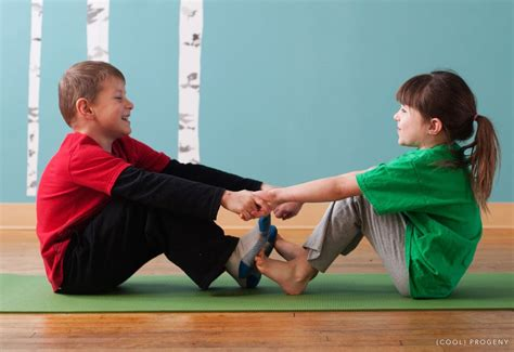 Yoga Poses For Kids Two People