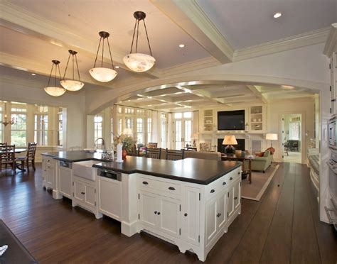open floor plan kitchen and living room open kitchen living home decor like