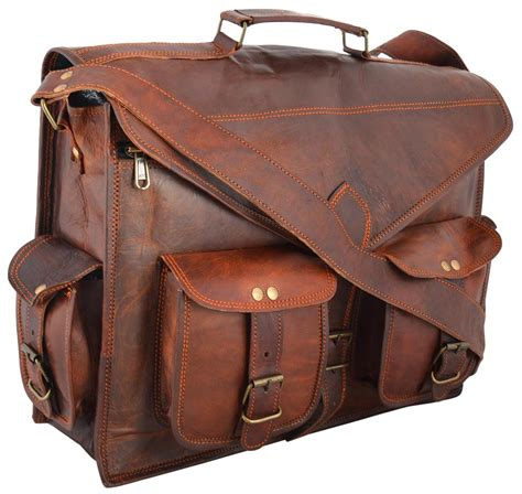 Handmade Briefcase - handmadecraft abb 18 inch vintage handmade leather