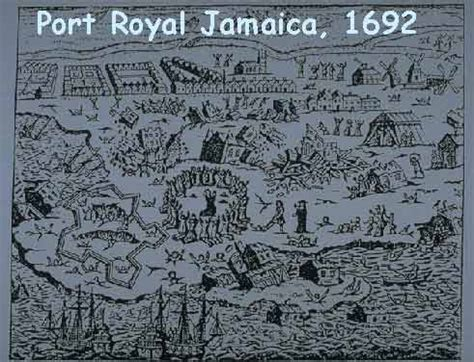 port royal jamaica history a fe me page dis iyah port royal history
