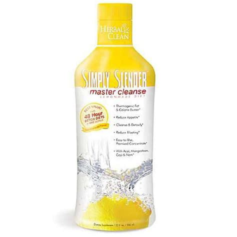 Best Otc Detox Drink by Simply Slender Master Cleanse Lemonade Diet 32 Oz By