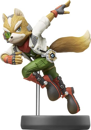 Best Buy: Nintendo amiibo Figure (Fox) 12345