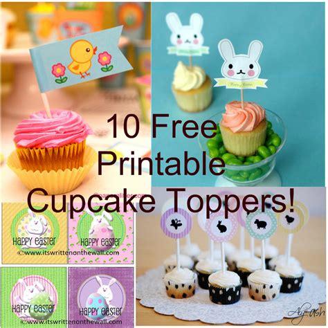 Cupcake Topper New Year Season S Greetings Bulat 5 Cm Topper Cup Cake 10 free easter cupcake topper printables printables 4