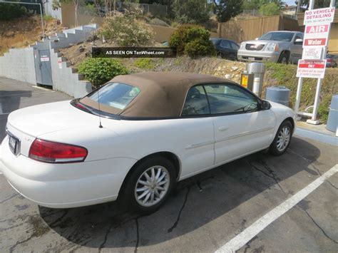 Chrysler Sebring Convertible 2002 by Chrysler Sebring Convertible Image 47