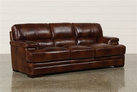 Rodrick Leather Sofa Living Spaces Living Spaces Leather Sofa